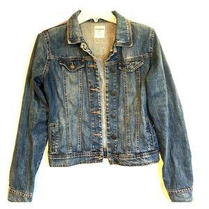OLD NAVY Medium Blue Denim Jacket Cotton XX-LARGE
